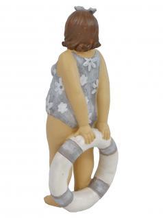 Frau im Badeanzug Mollige Dicke Dame Lady Rubens Deko Retro Figur Schwimmring - Vorschau 3