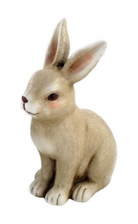 Deko Hase Hasen Oster Tier Garten Figur Osterhase Skulptur Ei Osterei Blume Korb