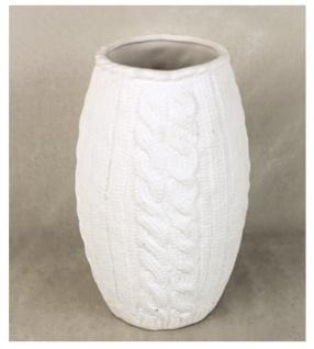 Vase Porzellan altweiss Vasen Blumenvase Tischvase Dekoartikel Deko Artikel