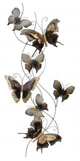 Wanddeko Metall Schmetterlinge Wandbild Deko Bild Tier Figur Wandschmuck Hänger