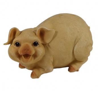 Sparschwein Spardose Spartopf Sparbüchse mit Schloss Spar Schwein Deko Figur