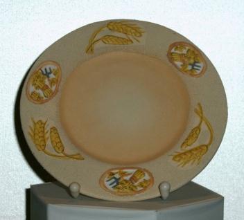 Teller Dekoteller aus Keramik Deko Teller Dekoschale