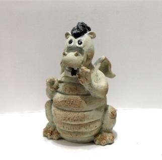 Drachen Drache Echse Gecko Lurch Deko Garten Tier Figur Artikel Skulptur Statue