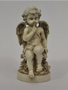 Engel Dekoengel Schutzengel Korb Skulptur Grab Deko Figur Grabschmuck Engelfigur