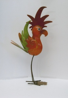 Vogel Metall Garten Deko Tier Figur Skulptur Dekofigur Gartenfigur Vögel