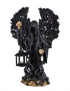Gothic Deko Figur Laterne Sensemann Skull Totenkopf Todesengel Teelichthalter