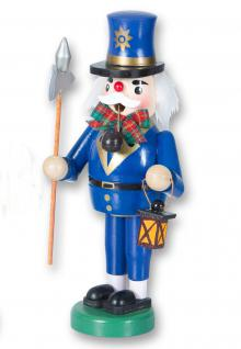 Räuchermännchen Nachtwächter Holz Räuchermann Räucherfigur Weihnachts Deko Figur