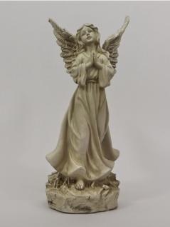 Engel Schutzengel Dekoengel Skulptur Grabschmuck Grabdeko Deko Figur Statue