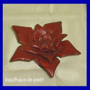 Weihnachtsstern Weihnachts Sterne Stern rot Keramik