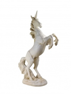 Einhorn Unicorn Deko Figur Skulptur Fairy Mystik Fantasy Tier Pferd Elfe Fee