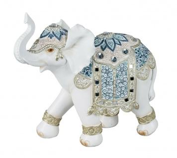 Elefant Elefanten Skulptur Deko Artikel Garten Wild Tier Figur Afrika Objekt