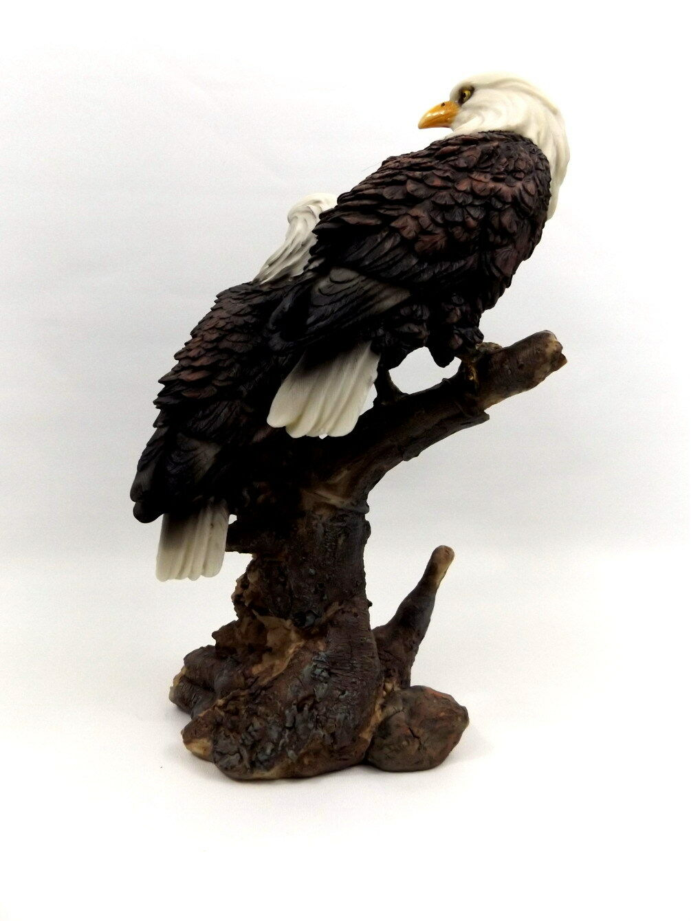 Wei kopf adler vogel eagle seeadler deko garten tier figur for Deko vogel garten
