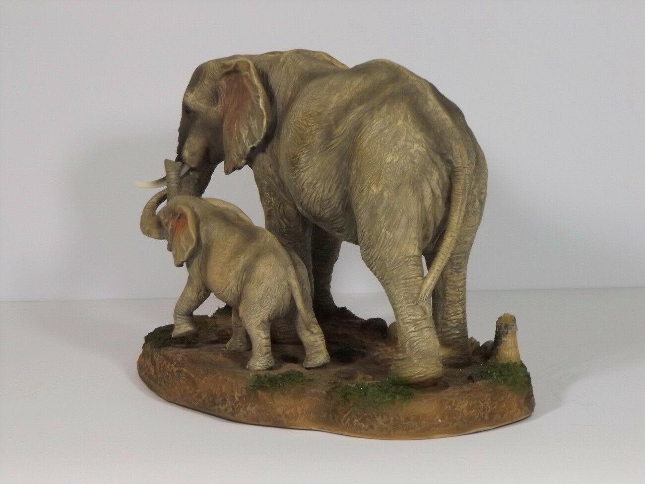 Elefant Baby Tierfigur Skulptur Skulptur Skulptur Elefanten Deko Garten Tier Figur Afrika Statue 82b197