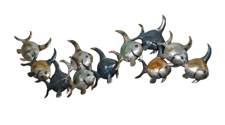 Wanddeko Fisch Zierfisch Wandbild Metall Deko Garten Tier Wand Figur Skulptur Kaufen Bei Gerhard Rapp Gmbh