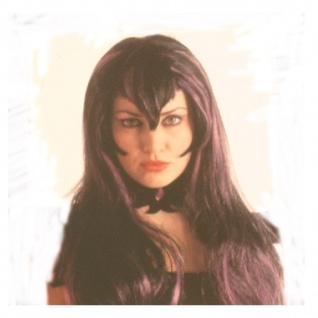 Perücke Hexe Halloween Kostüm Vampir Dracula Braut - Vorschau