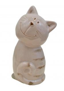 Katze Katzen Deko Tier Garten Figur Skulptur Katzenfigur Dekofigur Kater Statue