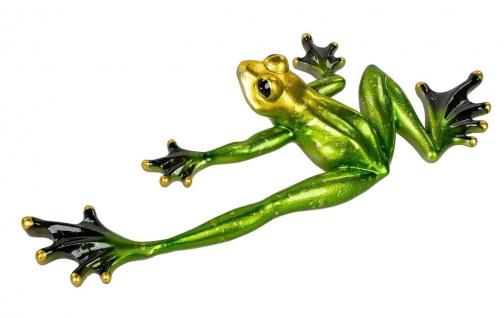 Frosch Kröte Gecko Lurch Unke Garten Deko Teich Tier Figur Skulptur Froschkönig