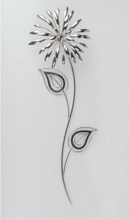 Wanddeko Wandbild Metall Deko Bild Artikel Blume Blüte Wandhänger Wandschmuck