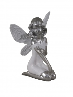 Elfe Fee Elfenfigur Blumen Fairy Deko Figur Mystik Fantasy Skulptur Statue