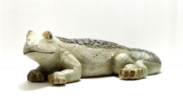 Echse Gecko Eidechse Lurch Drache Deko Garten Tier Figur Artikel Skulptur Statue