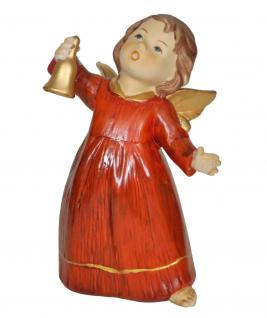 Engel Schutzengel Glocke Engelfigur Skulptur Weihnachtsengel Deko Figur Statue