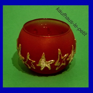 Windlicht Teelichthalter Kerzenhalter Kerzenglas Glas