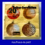 20 Weihnachtsservietten Idena Tischdeko 33 x 33
