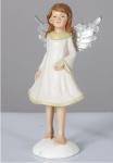 Engel Schutzengel Engelfigur Skulptur Statue Weihnachts Deko Figur Artikel Elfe