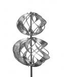Gartenstecker Metall Kreisel Windrad Windmühle Garten Stab Deko Figur Windspiel
