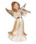 Engel Dekoengel Schutzengel Engelfigur Skulptur Weihnachts Deko Figur Geige
