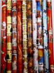 10 Rollen Weihnachtspapier Geschenkpapier 2 m x 70 cm Weihnachtsgeschenkpapier