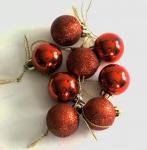 16 Christbaumkugeln Weihnachkugeln Weihnachtsdeko 3cm