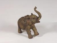 Elefant Elefanten Skulptur Deko Artikel Garten Wild Tier Figur Statue Afrika