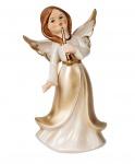 Engel Dekoengel Schutzengel Engelfigur Skulptur Weihnachts Deko Figur Trompete