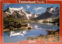 Puzzle 1000 Patagonia Chile Berge Castorland Puzzel