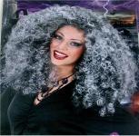 Perücke Locken Hexe Vampir Zigeunerin Karneval Kostüm