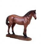 Pferd Reitpferd Skulptur Deko Garten Tier Figur Fuchs Artikel Statue abstrakt
