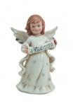Engel Dekoengel Schutzengel Porzellan Deko Figur Skulptur Weihnachtsengel Statue