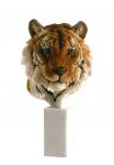 Tigerkopf Büste Tiger Katze Tierfigur Skulptur Deko Tier Figur Statue Löwe Kater
