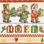 20 Servietten Bären Bärchen NOEL Tischdeko Napkins Serviette Deko Weihnachten