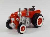 Spardose Trecker Spartopf Traktor Sparbüchse mit Stopfen Sparschwein Deko Figur
