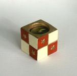Teelichthalter Keramik Kerzenhalter inkl. Teelicht Leuchter Deko Artikel Stern