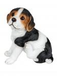 Beagle Hund Welpe Deko Garten Tier Figur Skulptur Statue Wildhund Basset Boxer