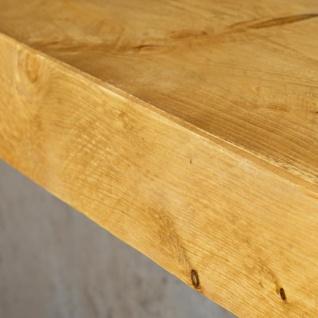 levandeo Wandregal Holz Massiv 100x10cm Eiche Farbig Wandboard Regal Vintage - Vorschau 5