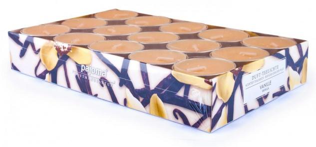 120 Kerzen 4x30 Wildkirsche Vanille Lemongras Orange Duftkerzen Kerze Teelicht - Vorschau 3