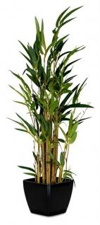 Kunstblume 11x60cm Bambus Baum Grün Zimmerpflanze Kunstpflanze Tischdeko
