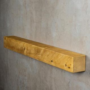 levandeo Wandregal Holz Massiv 100x10cm Eiche Farbig Wandboard Regal Vintage - Vorschau 4