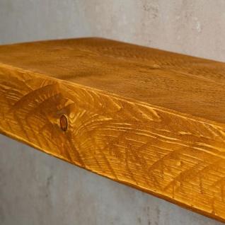 levandeo Wandregal Holz Massiv 60x20cm Teak Farbig Wandboard Regal Vintage Bord - Vorschau 5