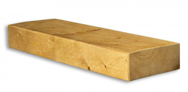 levandeo Wandregal Holz Massiv 60x20cm Eiche Farbig Wandboard Regal Vintage - Vorschau 2