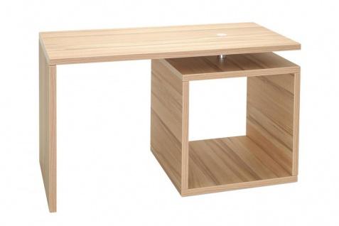 Couchtisch Lino drehbar Deutsche Herstellung Kernbuche Tisch 70x35x42